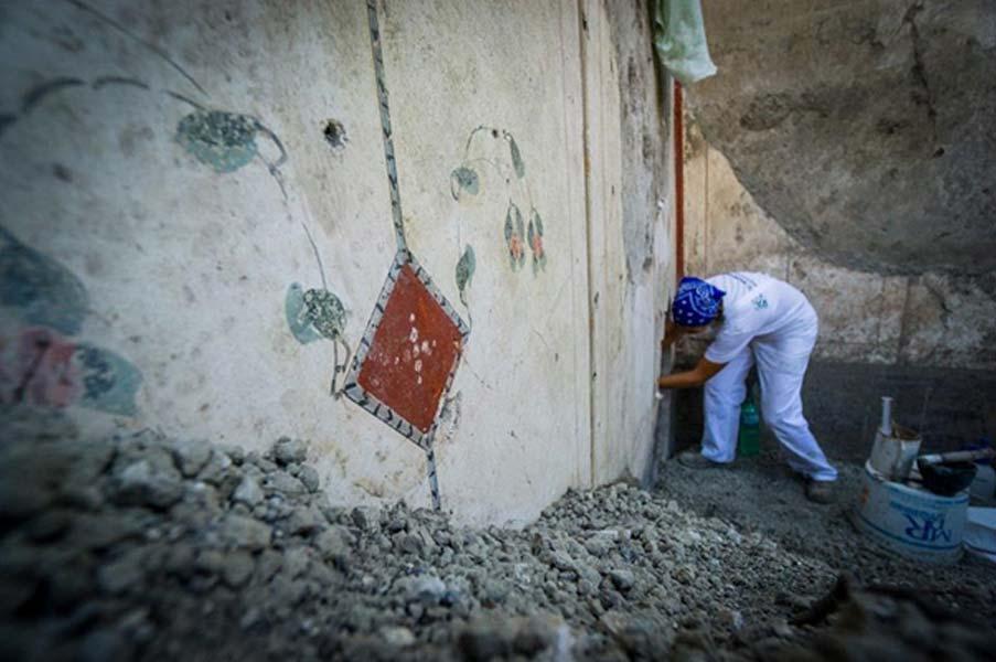 Los estilos de los frescos incluyen modas de diferentes épocas. (Imagen: Parco Archeologico Di Pompeii)
