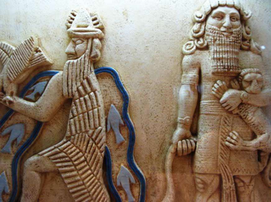 El dios de las aguas de Dilmún (Prathap MSK / Flickr)