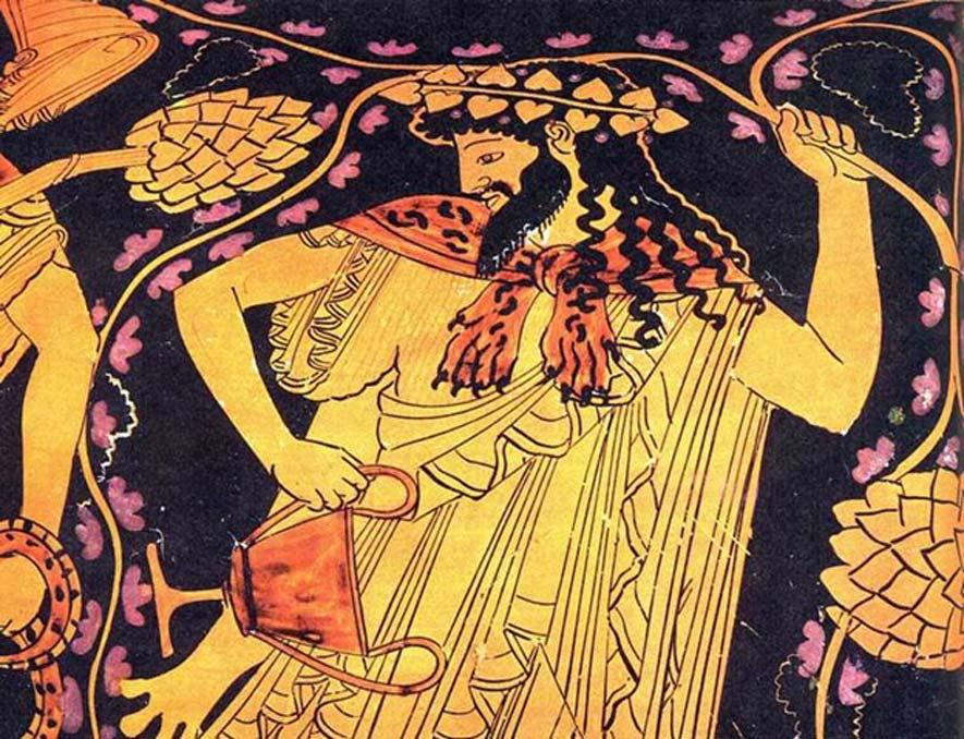 El dios griego Dionisos. (CC BY SA 3.0)