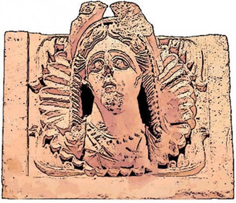 Al-Uzza, la diosa que representaba al planeta Venus y se correspondía con Ishtar/Astarté/Inanna, aparecía tanto en betilos como en esculturas. Relieve del templo de Khirbet et-Tannur, Jordania. (CC0)