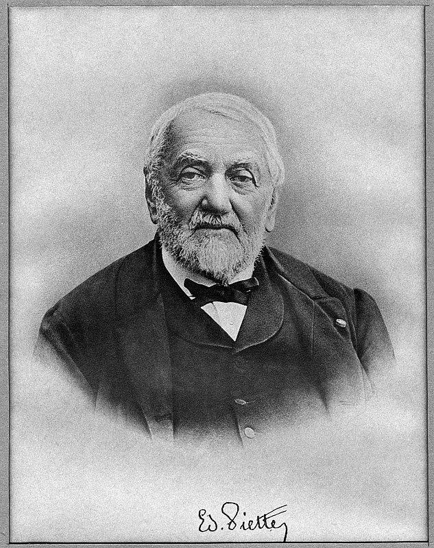 Retrato de Édouard Piette. Museo de Toulouse. (Didier Descouens 2010/CC BY-SA 4.0)