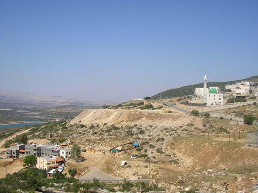 El pueblo de Eilabun (Israel), donde fueron descubiertos los antiguos establos subterráneos (Dominio público)