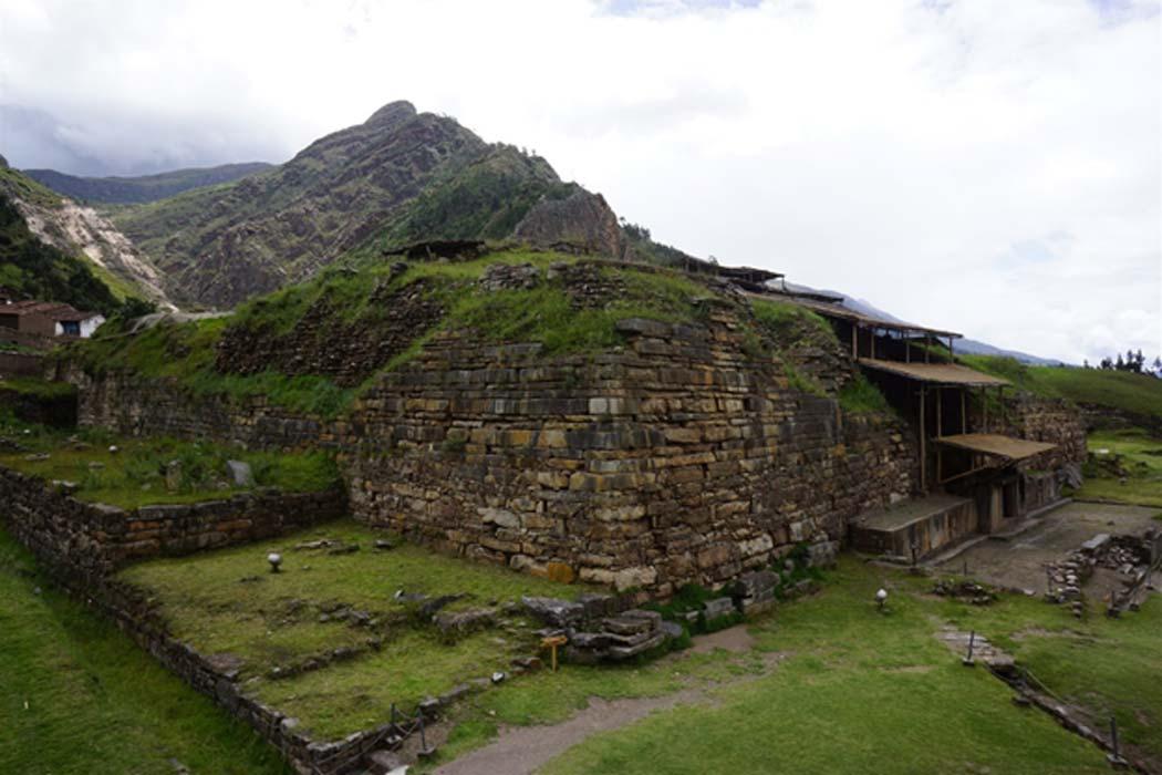 'El Castillo' de Chavín de Huántar, Perú. (Ministerio de Cultura de Perú)