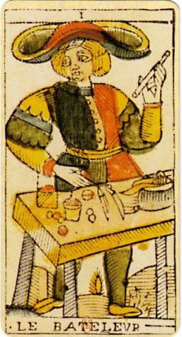 A esta carta del Tarot se la denomina generalmente 'El Mago' en la actualidad. (Public Domain)