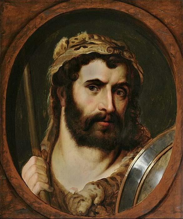 El emperador Cómodo retratado como Hércules y como gladiador. (Ghirlandajo/Dominio público)