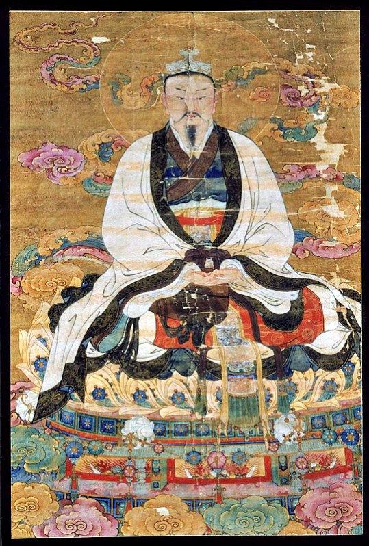 El Emperador de Jade en una pintura de la dinastía Ming realizada en tinta y color sobre seda, siglo XVI. (Public Domain)