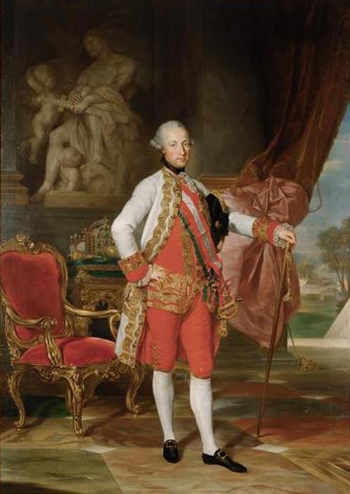 Emperador del Sacro Imperio Germánico José II, retrato obra de Anton von Maron. (Public Domain)