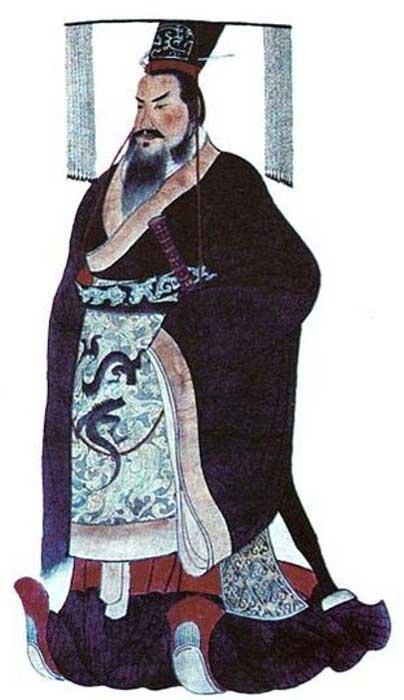 Qin Shi Huang, primer emperador de China. (Dominio público)