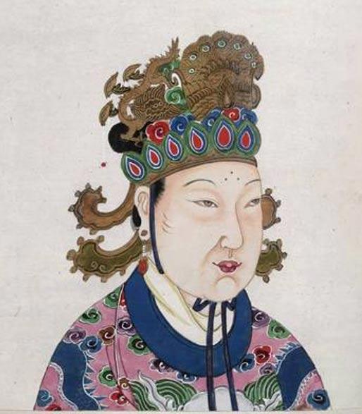 Emperatriz Wu (Wu Zetian) Reinó desde el 16 de octubre del 690 d. C. hasta el 22 de febrero del 705 d. C. (Public Domain)