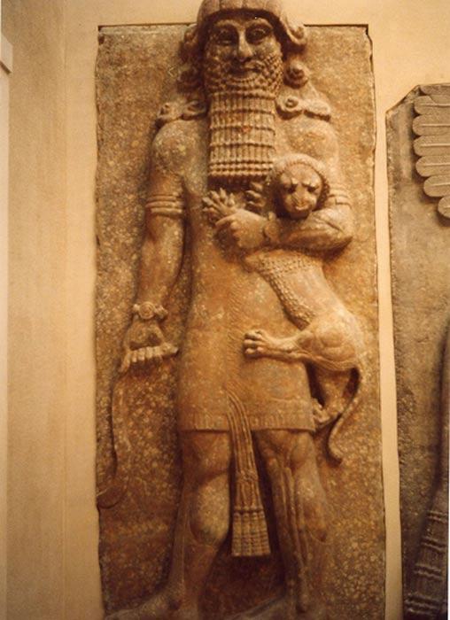 Posible representación del rey Enkidu. (CC BY-SA 3.0)