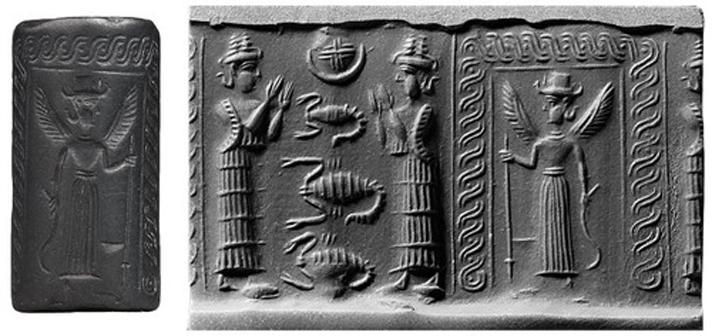 Ereshkigal, Reina del Inframundo (mesopotamiangods)