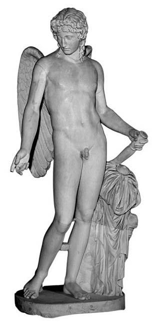 Eros Farnesio, estatua de mármol pompeyana. (Public Domain)