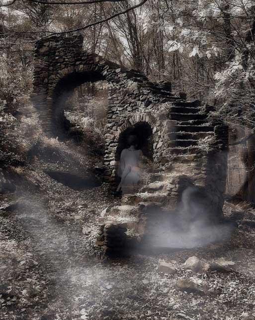 Los fantasmas podían regresar al mundo de los vivos como apariciones o a través de la posesión. (Glass_House/CC BY ND 2.0)