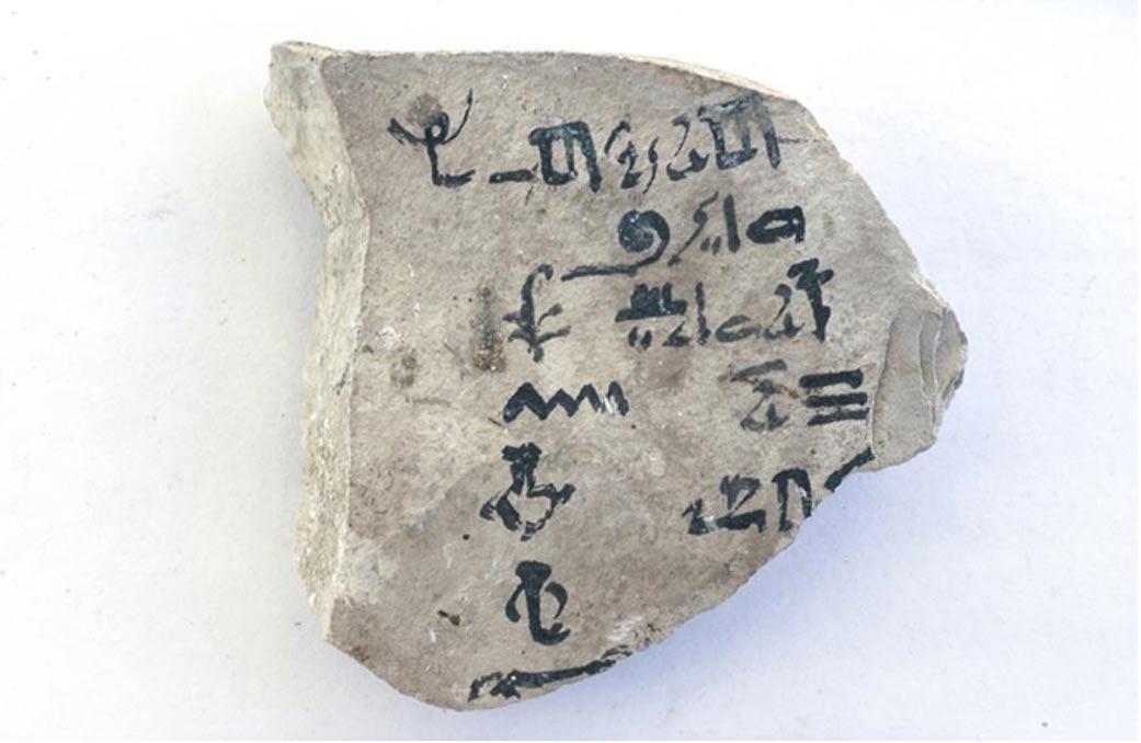 Un egiptólogo holandés descifró en el año 2015 el más antiguo abecedario conocido escrito en antiguo hierático egipcio. (Nigel Strudwick)