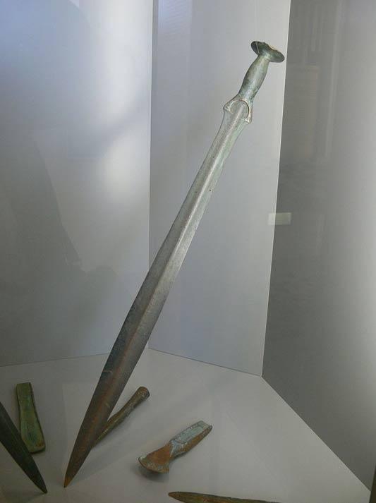 Espada de la Edad del Bronce hallada en un río de la Alta Austria. (CC BY-SA 3.0)