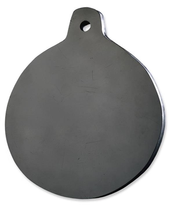 """El espejo de obsidiana de Dee utilizado para sesiones """"adivinatorias"""" (British Museum)."""