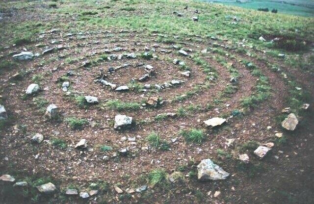Espiral de piedra de Arkaim. (Zarina s96/CC BY-SA 4.0)