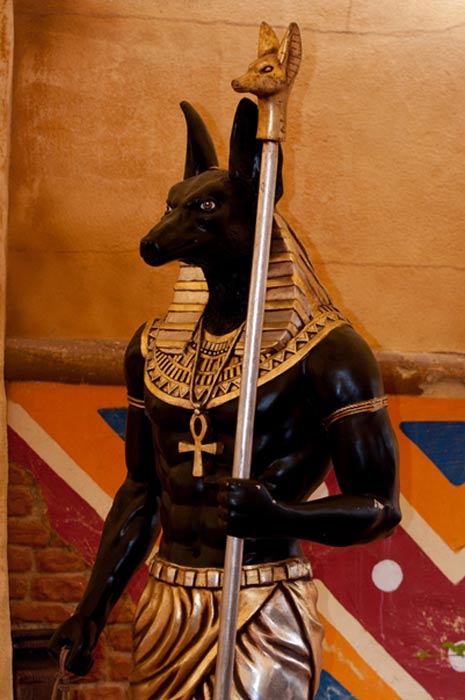 Estatua de Anubis. (CC BY 2.0)