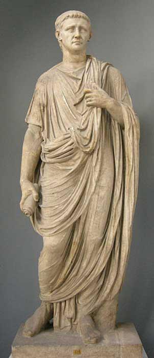 Estatua de Claudio expuesta en los Museos Vaticanos. (Sailko/CC BY SA 3.0)