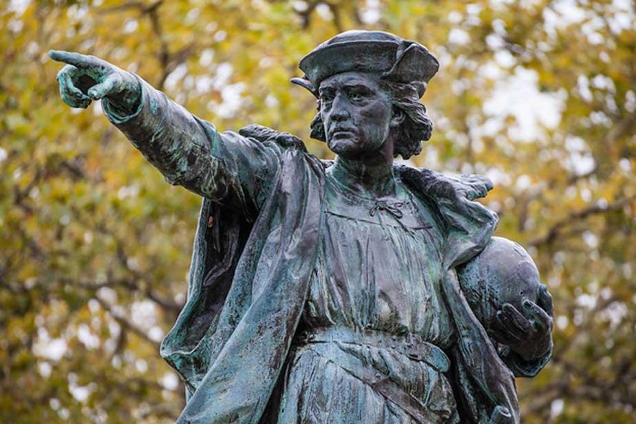 Cristóbal Colón fue considerado durante años un héroe en los Estados Unidos (Dominio público)