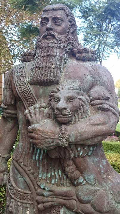 Estatua de Gilgamesh (Gwil5083/CC BY-SA 4.0)