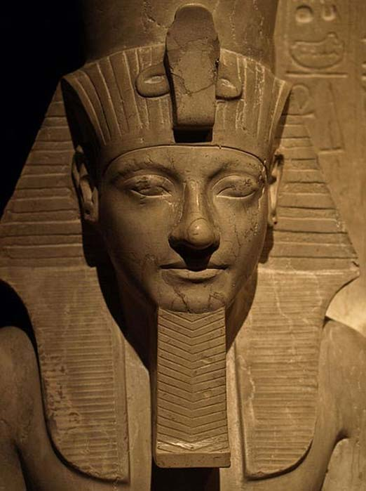 Detalle de una estatua de Horemheb, Museo de Historia del Arte de Viena. (CC BY SA 3.0)