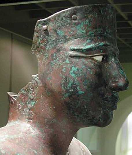 Estatua de cobre a tamaño natural de Pepi I, Museo de El Cairo. (Public Domain)