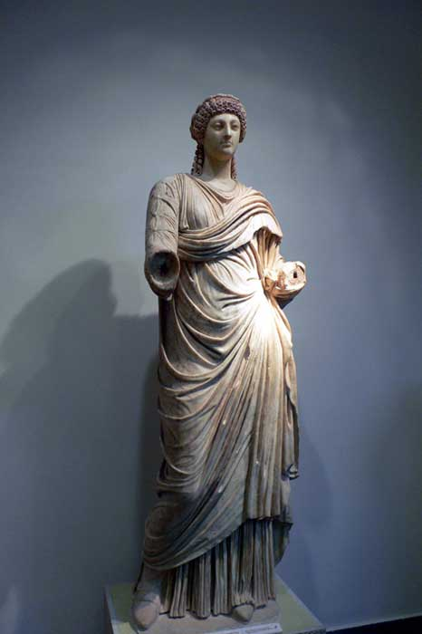 Estatua de Popea, Museo Arqueológico de Olimpia (Grecia). (Public Domain)