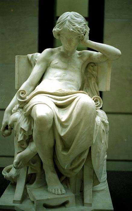 Estatua de un joven Aristóteles. (Rama/ CC BY 2.0 fr)