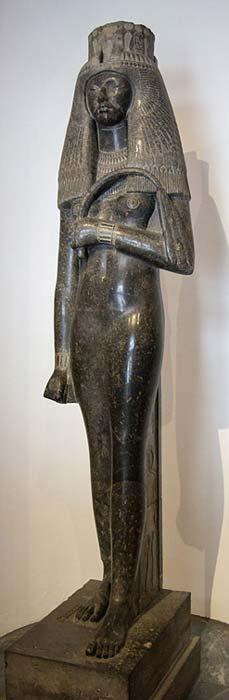 Estatua de Tuya, Museo Gregoriano Egipcio, Museos Vaticanos. (CC BY-SA 3.0)
