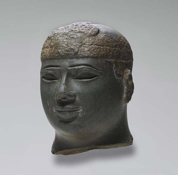 Estatua de un rey Kushita, 716 a. C. – 702 a. C. (Museo de Brooklyn/Public Domain)