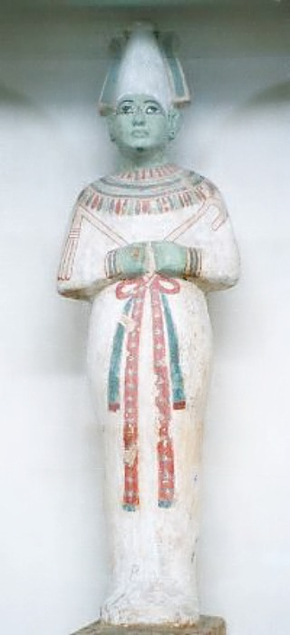 Estatuilla de Osiris. Museo Egipcio de El Cairo, Egipto. (Hajor/GNU FREE)