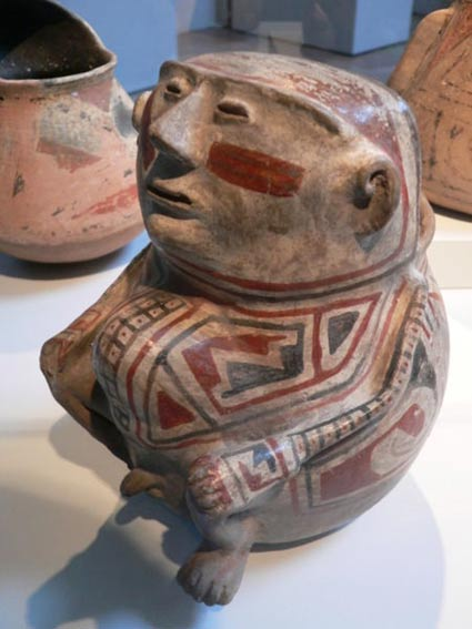 Estatuilla de la cultura Casas Grandes. (Iris & B. Gerald Cantor Center for Visual Arts)