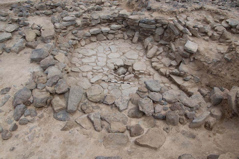 Una de las estructuras excavadas en Shubayqa. (Universidad de Copenhague)