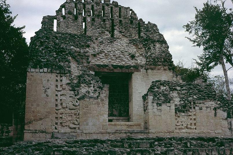 Chicanná, Campeche, México: Estructura VI. (CC BY SA 3.0)