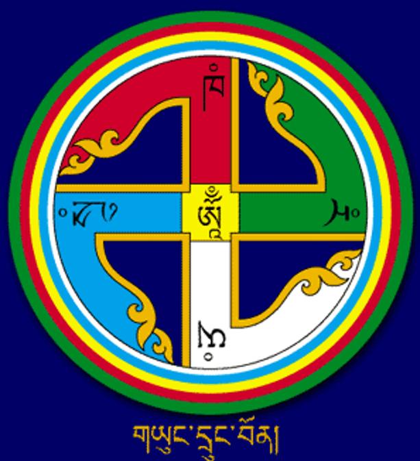 La esvástica es un símbolo habitual en la religión Bön. (Imagen: swastika-info.com)