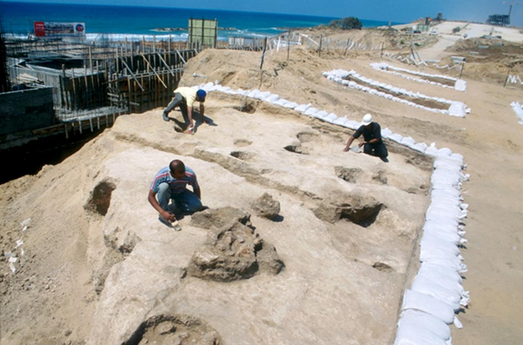 Excavaciones en Ascalón, Israel (Public Domain)
