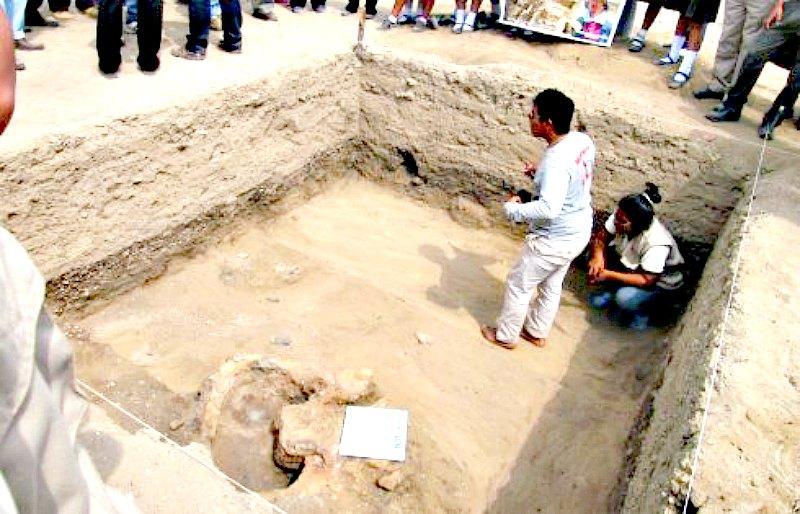 Las excavaciones realizadas en Cerro Luya han logrado sacar a la luz importantes restos arqueológicos. (Fotografía: Arqueología del Perú)