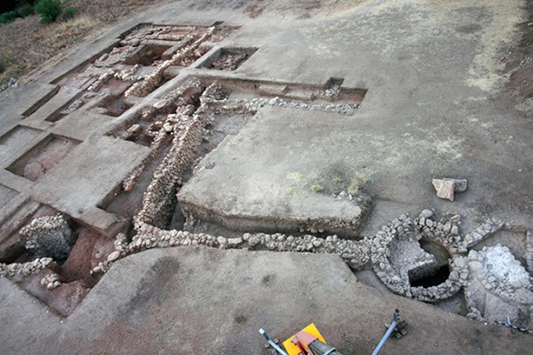 Las ruinas de la ciudadela de Micenas llevan muchos años siendo excavadas. (Fotografía cortesía de Christofilis Maggidis)