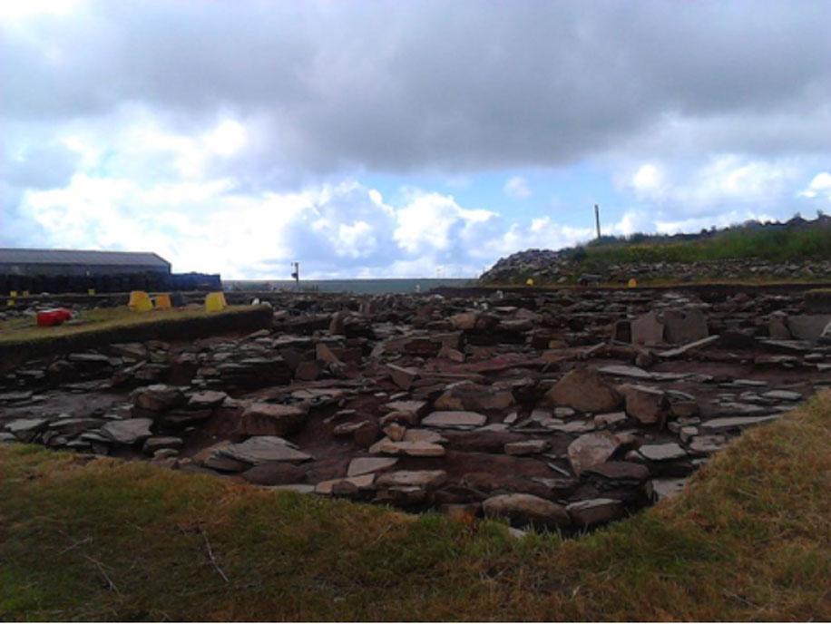 Estructura nº 14 de las excavaciones del Ness de Brodgar (CC BY SA 4.0)