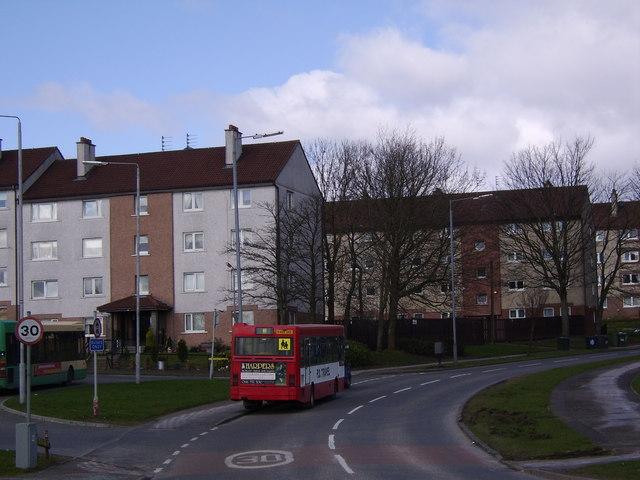 La urbanización residencial de Faifley en Clydebank, Escocia (CC BY-SA 2.0)