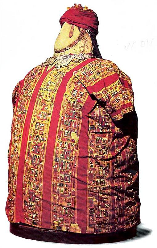 Fardo funerario de la cultura wari. (Public Domain)