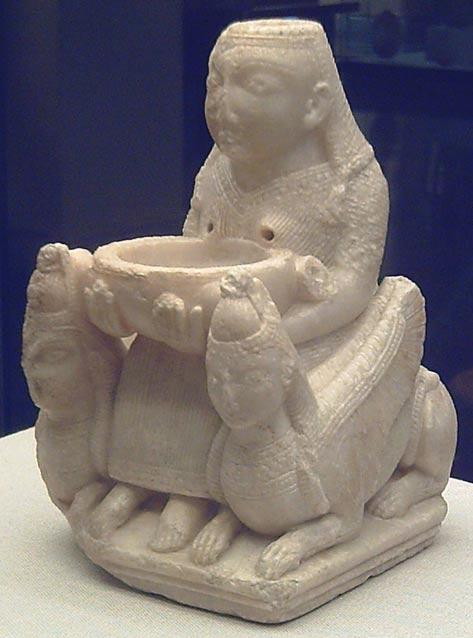 Estatuilla fenicia de una antigua deidad del Medio Oriente, probablemente la diosa Astarté. Siglo VII a. C. (Luis García/CC BY-SA 3.0)
