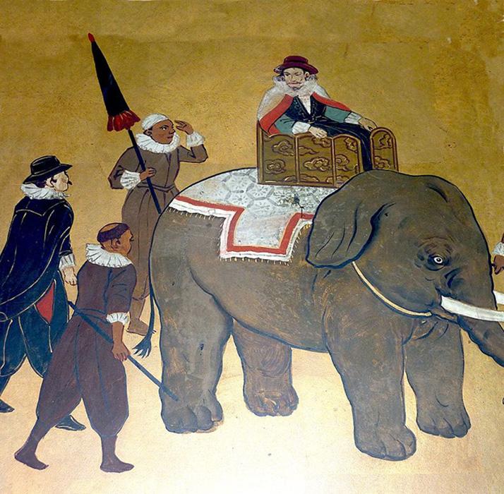 Filipe de Brito, mercenario portugués y gobernador de Syriam (Birmania) hacia el año 1600. (Public Domain)