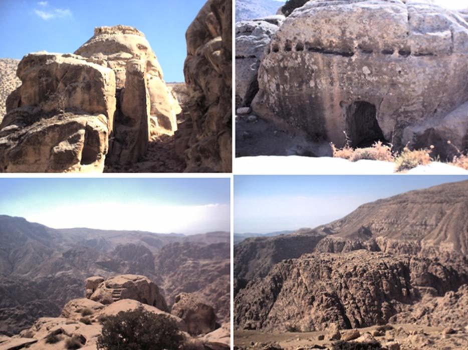 La fortaleza de montaña de Sela (Nabataea.net)
