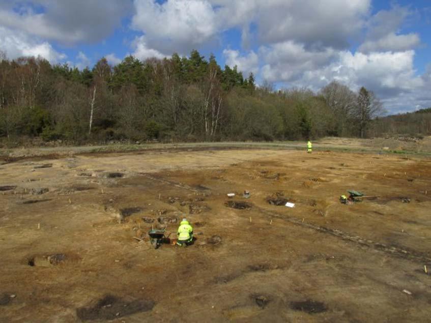 Se han descubierto 82 fosos de la Edad de Bronce en Sunnsvära (Suecia) (Jessica Andersson/CC)