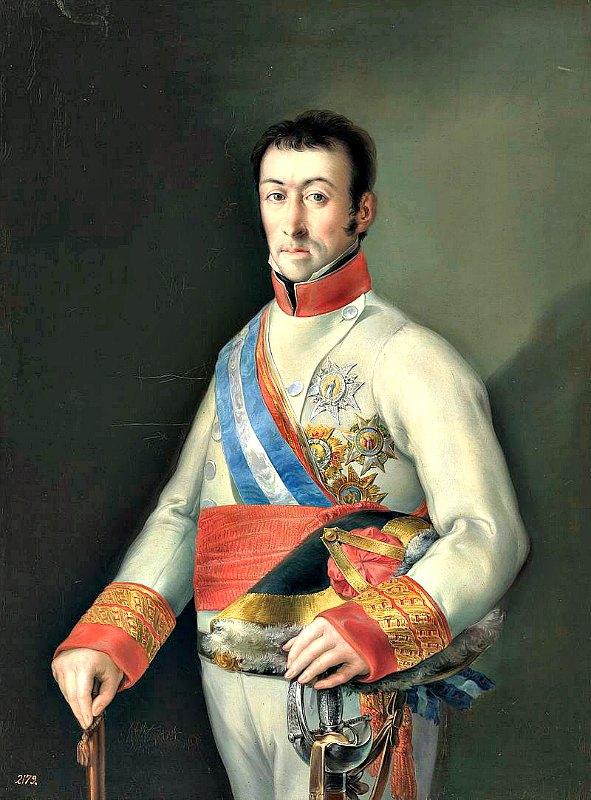 Retrato del general español Francisco Javier de Elío, (1767-1822). Museo del Prado de Madrid, España. (Public Domain)