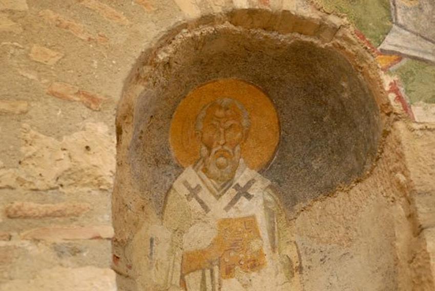 Fresco de San Nicolás. Fuente: BigStockPhoto