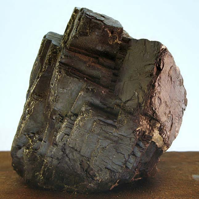 Galena, mineral de plomo (Wikimedia Commons photo/Ra'ike)