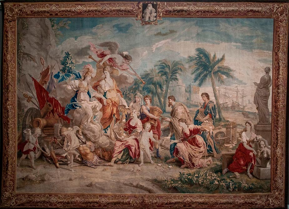 La glorificación de Minerva. (Szilas/Dominio público)